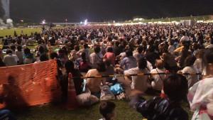 P1000163十数万人が見た宇都宮花火大会